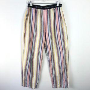 Ted Baker Pants - Ted Baker Striped Rainbow Sleep Pajama Pants #1390